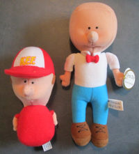 Fred and Kingie Dolls