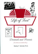 Life of Fred Decimals and Percents teaches the second half of the introduction to pre-algebra